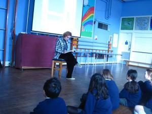 Sarah Holding at Long Ditton Junior School